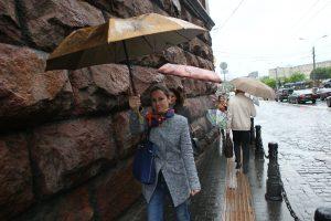 За последнее время в Москве выпало 40 процентов осадков
