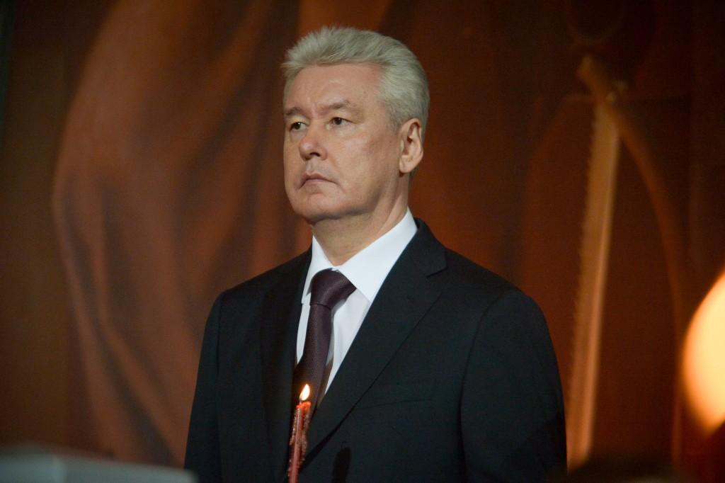 Мэр Москвы поздравил верующих с Пасхой
