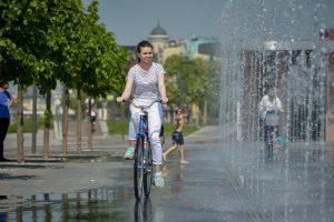 На выходных Москву ждет теплая погода