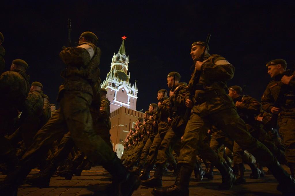 На Красной площади прошла репетиция Парада Победы 9 мая