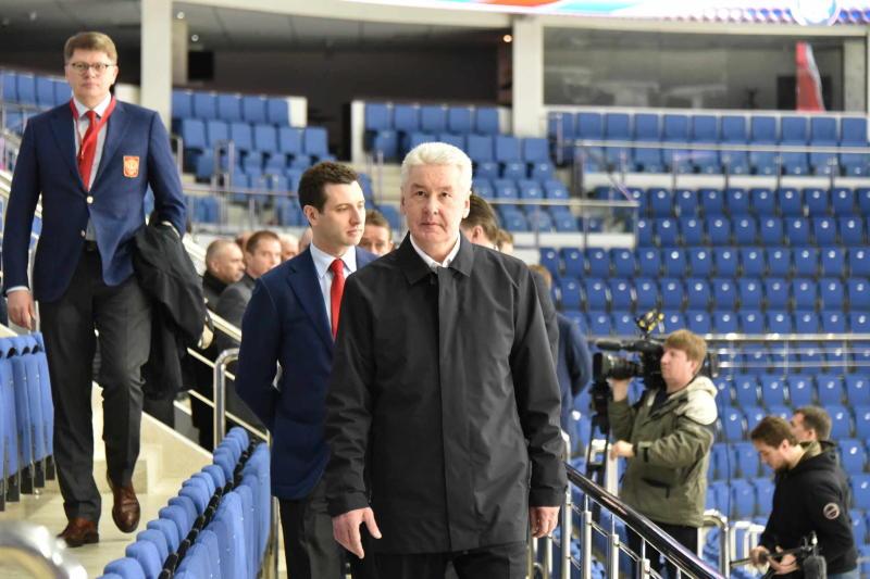 Сергей Собянин поздравил хоккеистов с бронзой