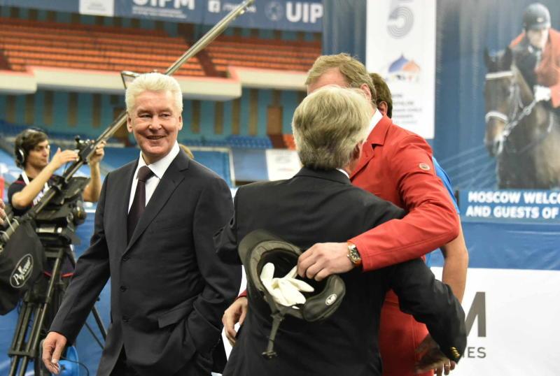 Мэр Москвы Сергей Собянин принял участие в церемонии открытия Чемпионата мира по современному пятиборью