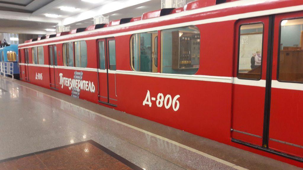 О выставке ретро-вагонов метро рассказали троицкие молодые парламентарии