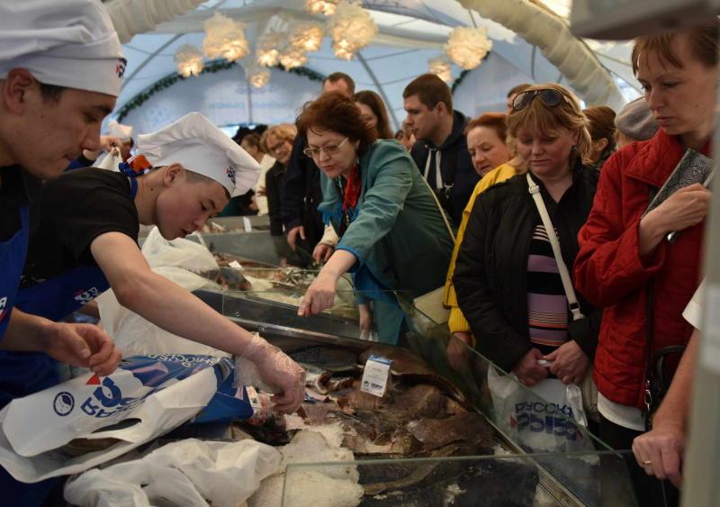 В Москве завершился масштабный фестиваль «Рыбная неделя»