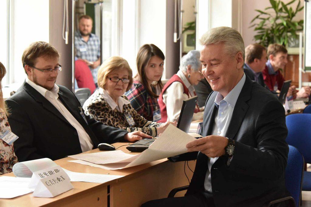 Собянин пригласил горожан проголосовать на праймериз