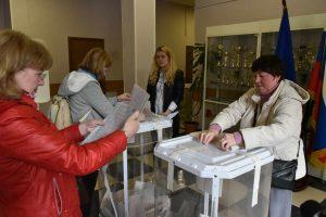 22 мая 2016 Мэр Москвы Сергей Собянин принял участие в предварительном голосовании голосовании (праймериз Единой России)