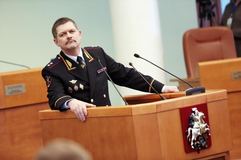 Начальник Главного управления МВД России по г. Москве Анатолий Якунин
