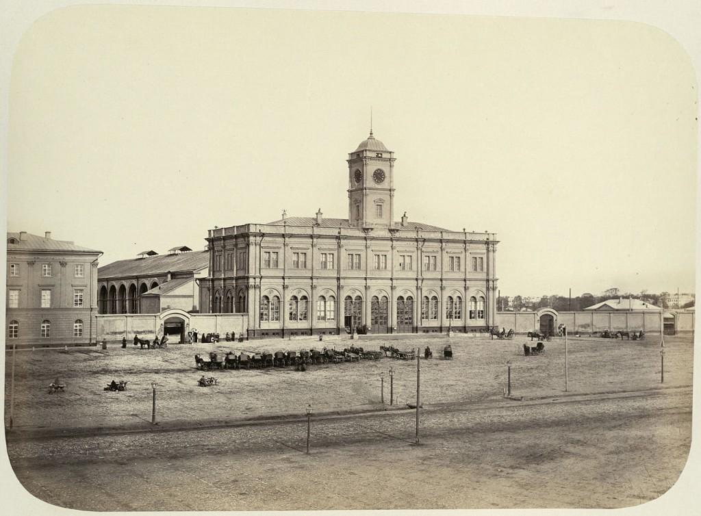 Николаевский вокзал, 1890-е. Фотоархив Wikipedia