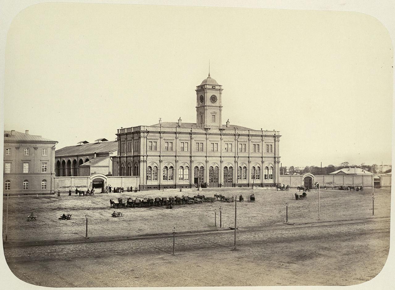 Столетние новости: Николаевский вокзал