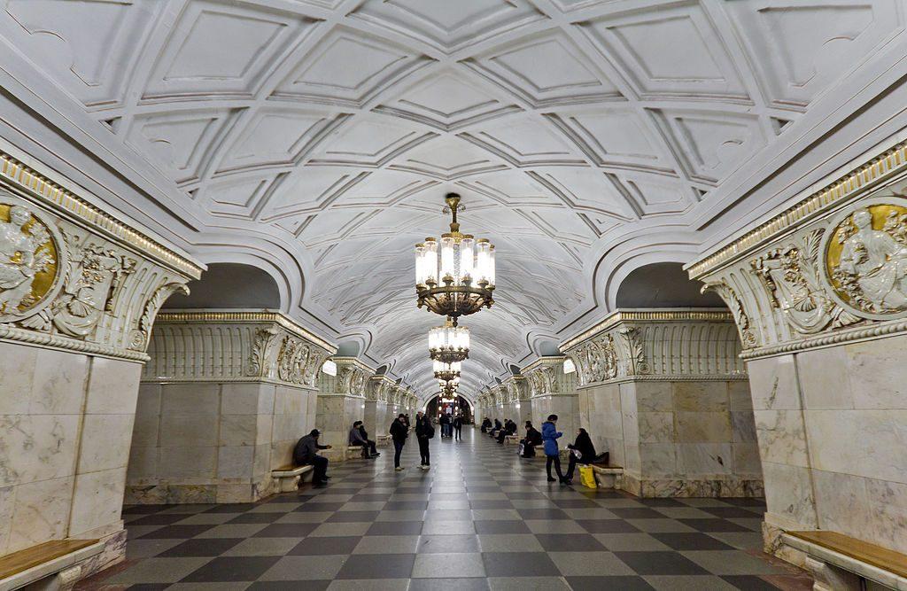 После годичного ремонта открылся вестибюль станции «Проспект мира»
