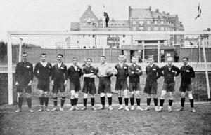 Сборная Российской империи на Олимпийских играх 1912 года. Фотоархив Wikipedia