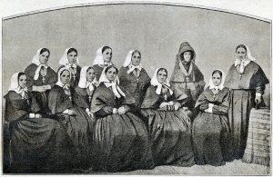 Сестры Крестовоздвиженской общины, 1855 год. Фотоархив Wikipedia