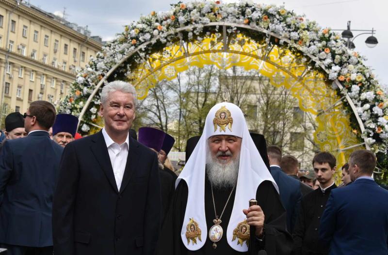 Мэр Москвы пригласил москвичей на пасхальную площадку фестиваля «Московская весна»