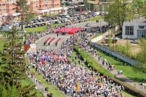 День Победы в Троицке. 9 мая 2016 года. Фото: Наталья Алимова.