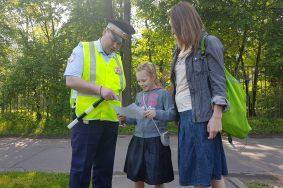 В новых округах провели рейд «Маленький пешеход»