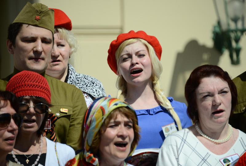 Песни военных лет прозвучат на театральной сцене Первомайского