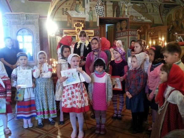 Пасху в Первомайском отпраздновали под звуки детских голосов