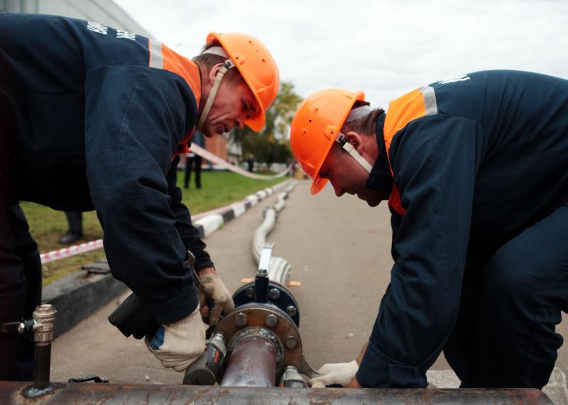 В Бабушкинском районе устраняют последствия аварии