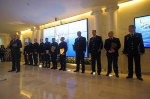 Полицейских Москвы наградили за освобождение заложников