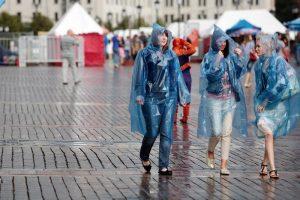 В столице в понедельник ожидаются дожди и ветер
