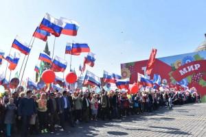 Больше 100 тысяч человек приняли участие в празднике