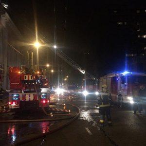 Пожар на востоке столице потушен