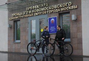 "Автор: Александр Кожохин, ""Вечерняя Москва"" 20 мая в Москве прошла акция «На работу на велосипеде»."