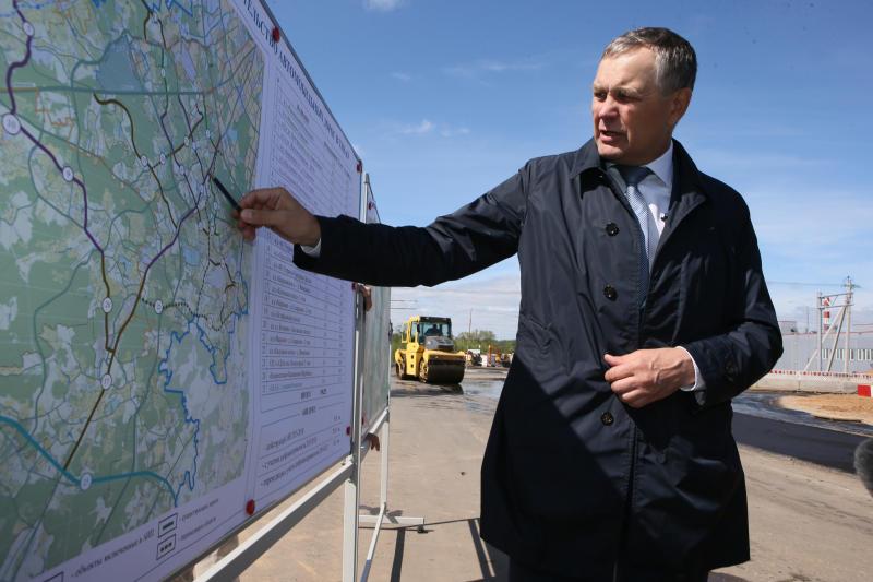 Дорогу от Боровское шоссе до деревни Ботаково закончат раньше срока