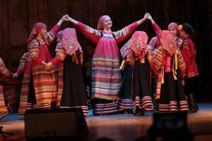 Детский фольклорный ансамбль «Зоренька» выступит в Кремле. Фото: Ксения Левина.