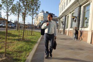 31 мая 2016 года. Москва. Глава администрации поселения Мосрентген Евгений Ермаков. Фото: Владимир Смоляков.
