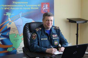 Сергей Мусаелян, руководитель МЧС по ТиНАО