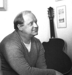 Юрий Визбор. Фото сделано 10 июня 1981 года. В тот год были написаны песни «Октябрь. Садовое кольцо», «Леди», «Спутники».