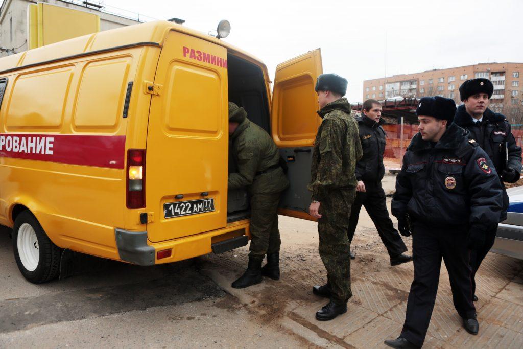 Интернат в Новой Москве обыскали на предмет бомбы