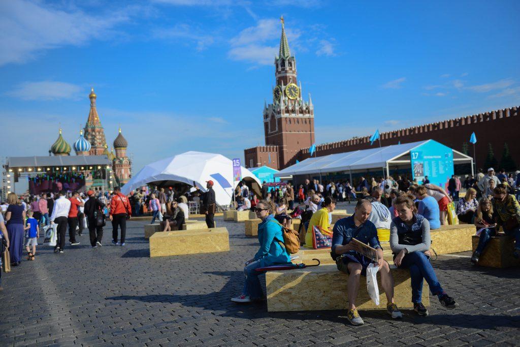 На фестивале «Красная площадь» было продано 60 тысяч книг