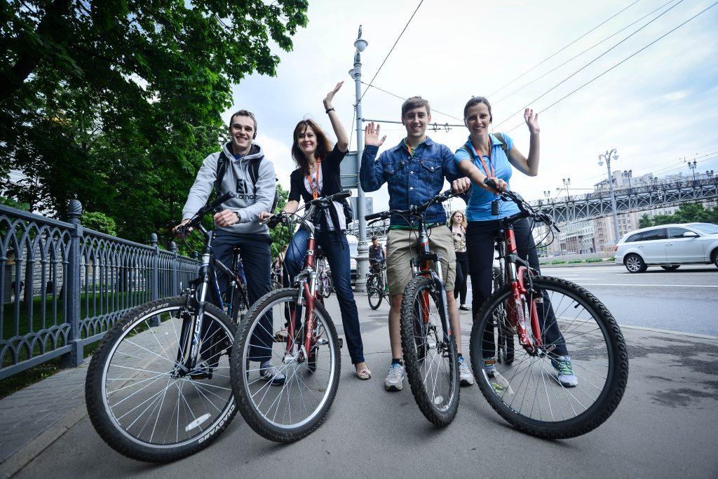 С начала года москвичи совершили более 400 тысяч велопоездок