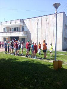 В летнем оздоровительном лагере Филимонковского провели учебную эвакуацию. Фото предоставлено пресс-службой МЧС по ТиНАО