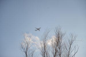 В три самолета на стоянке Шереметьево ударила молния