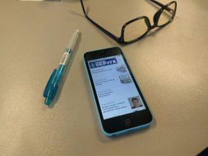 """У """"Новых Округов"""" появилось мобильное приложение для смартфонов и планшетов iOS. Фото: Юрий Сизиков."""