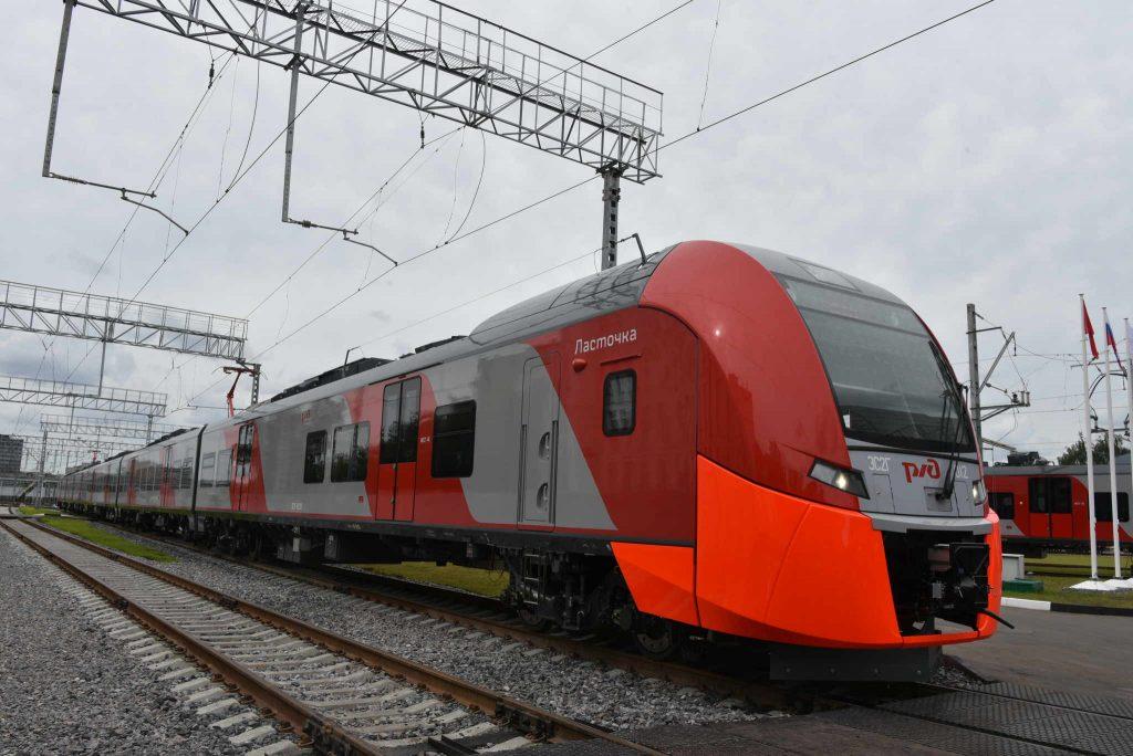 В каждом поезде Московской кольцевой железной дороги поместится до 12 велосипедов