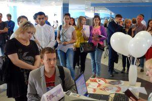 1 июня 2016 года. Акция «Московский донор» в Центре молодежного парламентаризма. Фото: Илья Евтеев.