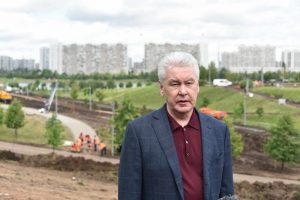 Мэр Москвы Сергей Собянин: Москва получит еще одну благоустроенную зеленую зону