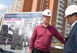 Мэр Москвы Сергей Собянин: Пуск Кожуховской линии снизит существующую нагрузку на метро на Юго-Востоке Москвы