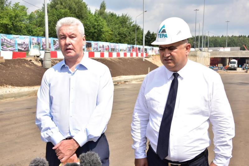 Новая развязка значительно улучшит движение по Ленинградке в районе Зеленограда - Собянин