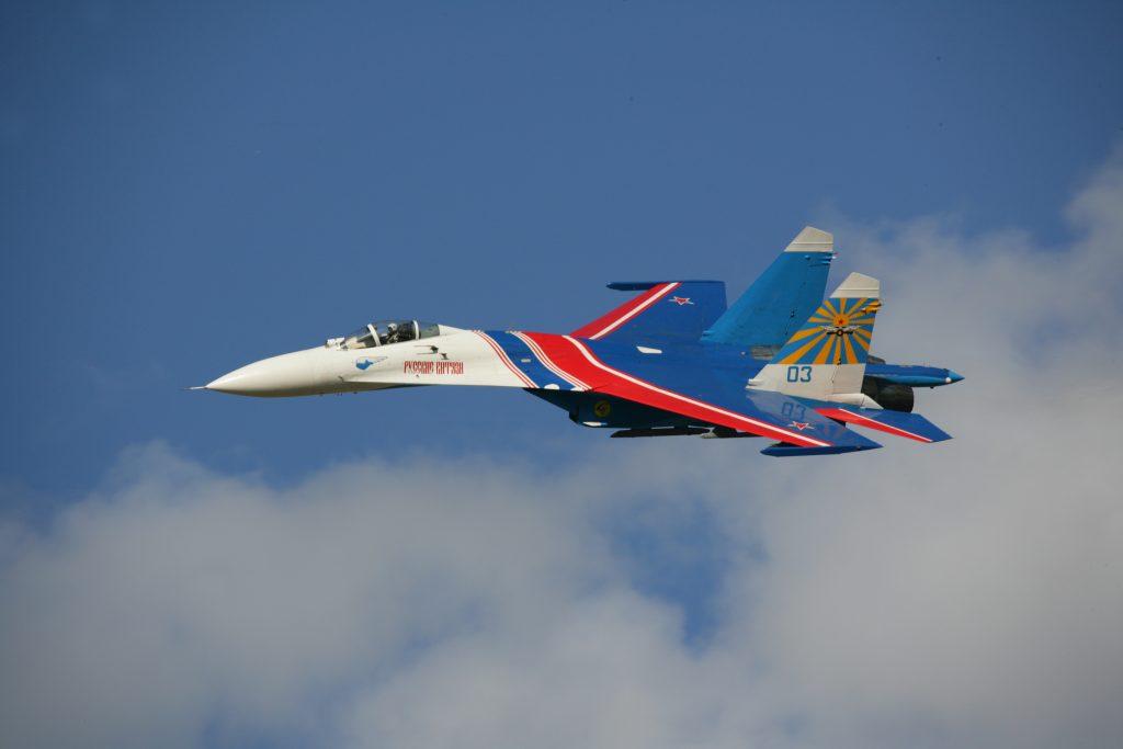 Истребитель Су-27 группы «Русские витязи» разбился в Подмосковье: пилот погиб