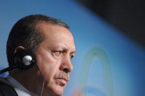 ISTANBUL, TURKEY. JUNE 8, 2010. Turkish Prime Minister Recep Tayyip Erdogan wears earphones at a meeting of the summit-level Conference for Cooperation and Confidence-Building Measures in Asia, in Istanbul. (Photo ITAR-TASS / Maxim Shemetov)   Òóðöèÿ. Ñòàìáóë. 8 èþíÿ. Ïðåìüåð-ìèíèñòð Òóðöèè Ðåäæåï Òàéèï Ýðäîãàí âî âðåìÿ âûñòóïëåíèÿ íà ñàììèòå ëèäåðîâ àçèàòñêèõ ãîñóäàðñò⠖ ñîâåùàíèÿ ïî âçàèìîäåéñòâèþ è ìåðàì äîâåðèÿ â Àçèè. Ôîòî ÈÒÀÐ-ÒÀÑÑ/ Ìàêñèì Øåìåòîâ