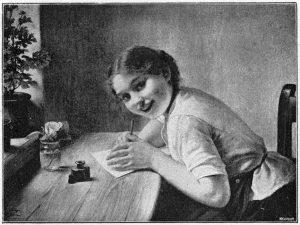 """Тайная переписка"", Карл фон Берген. 1891 год. Фотоархив Wikipedia"