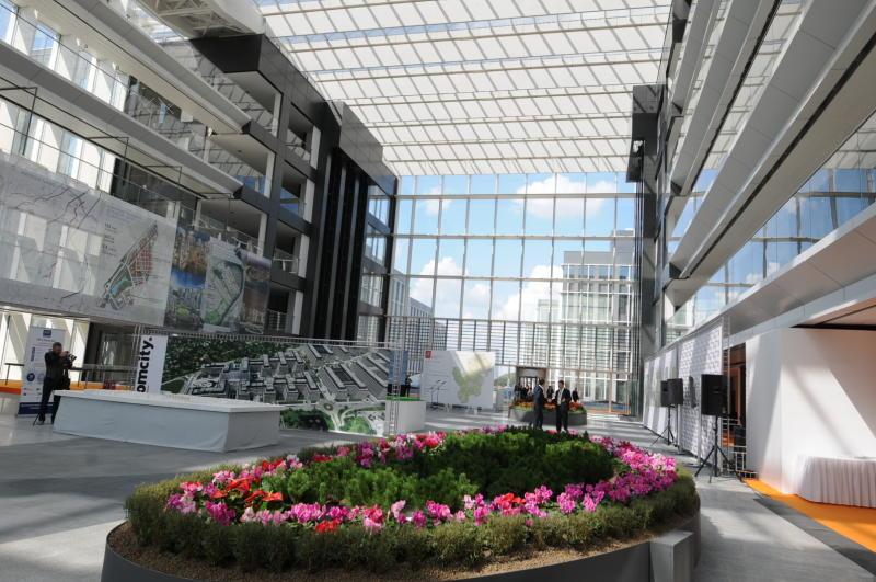 "Бизнес-парк планируют ввести в эксплуатацию в конце лета. Фото: архив, ""Вечерняя Москва"""