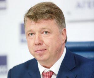 Руководитель Департамента национальной политики, межрегиональных связей и туризма города Москвы Владимир Черников