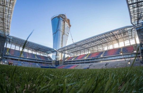 Цска стадион фото открытие