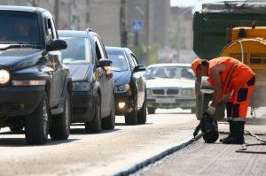 Водителей призвали скорректировать свой маршрут и выбрать пути объезда Фото: Дмитрий Рогулин/ТАСС.